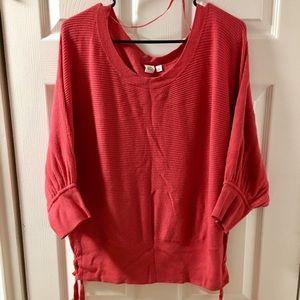 Gap Dolman Sweater, short sleeve, XL